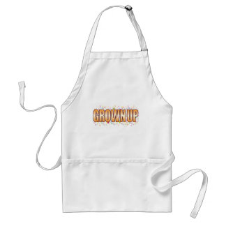 Grown Up Bubble Tag Standard Apron
