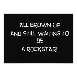 Grownup wanna rock announcement