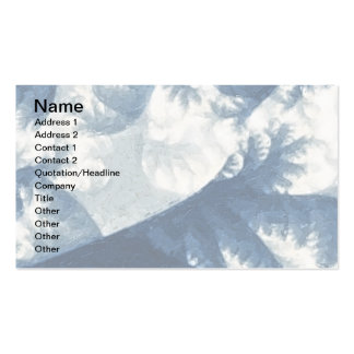 Growth 1 Blue Double-Sided Standard Business Cards (Pack Of 100)