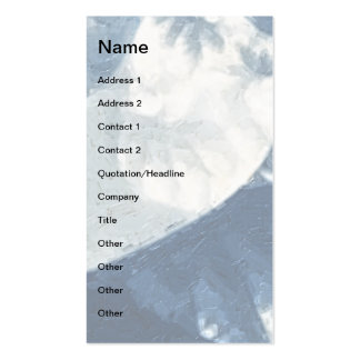 Growth 1 Blue Pack Of Standard Business Cards