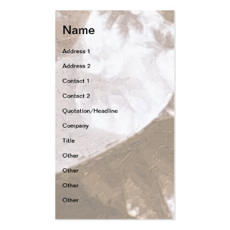 Growth 1 Brown Pack Of Standard Business Cards