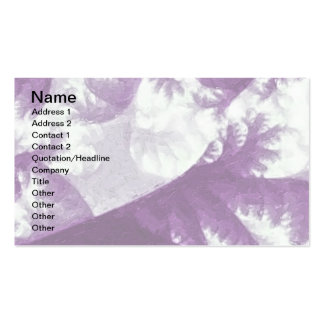 Growth 1 Purple Double-Sided Standard Business Cards (Pack Of 100)