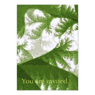 Growth 1 Sage 13 Cm X 18 Cm Invitation Card