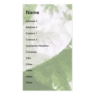 Growth 1 Sage Double-Sided Standard Business Cards (Pack Of 100)