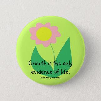 GROWTH 6 CM ROUND BADGE