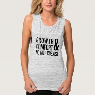 Growth and comfort | muscle tank