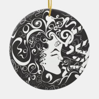 Growth and Harmony Christmas Ornament