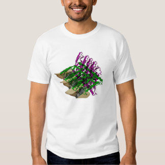 Growth Factor Descending a Staircase T Shirts