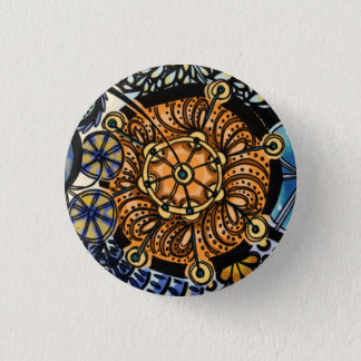 Growth in 3 Directions 3 3 Cm Round Badge
