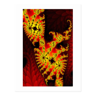 Growth in Fire Postcard