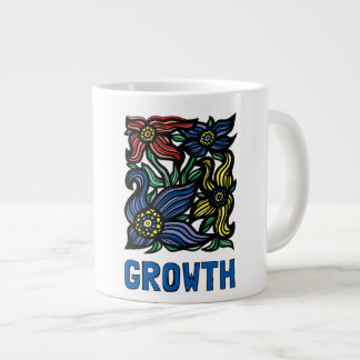 """""""Growth"""" Jumbo Mug"""