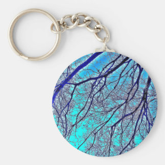 Growth on blue key chain