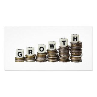 Growth Custom Photo Card