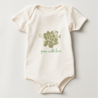 Growth With Love Baby Bodysuit