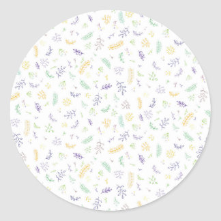 Growths Classic Round Sticker
