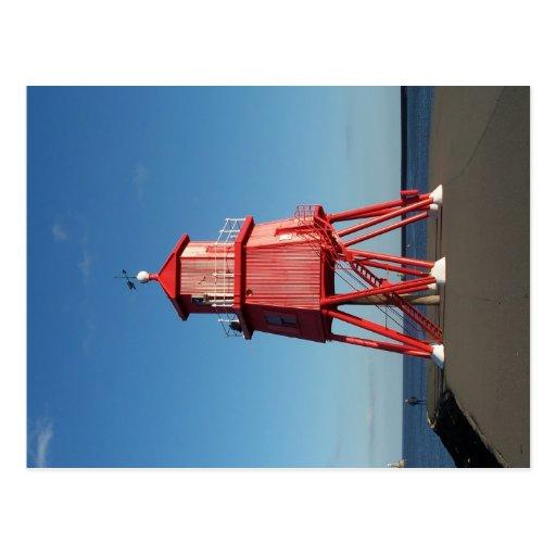 Groyne Lighthouse Postcard