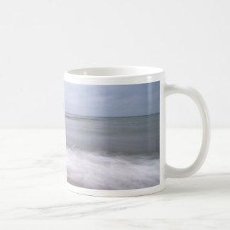 Groynes on the Baltic Sea coast Basic White Mug