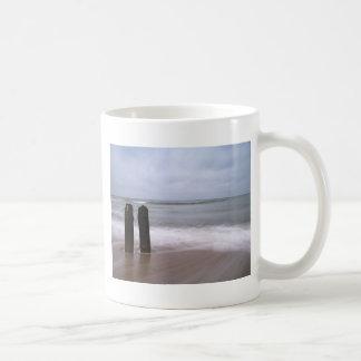 Groynes on the Baltic Sea coast Coffee Mug