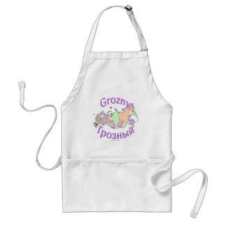 Grozny Russia Adult Apron