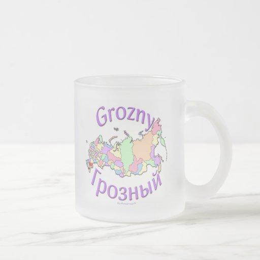 Grozny Russia Coffee Mugs