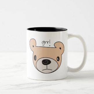Grr! Bear Two-Tone Mug
