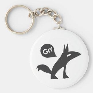 Grr Esprit Noir Keychains