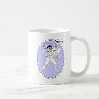 Grr Macho Greek Coffee Mug
