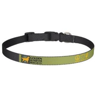 GRRNT Peace Love Rescue Collar