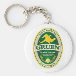 Gruen Basic Round Button Key Ring