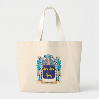 Gruen Coat of Arms - Family Crest Canvas Bag