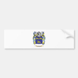 Gruen Coat of Arms (Family Crest) Bumper Stickers