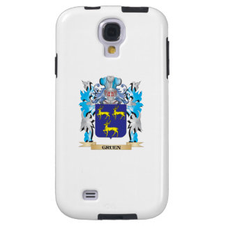 Gruen Coat of Arms - Family Crest Galaxy S4 Case