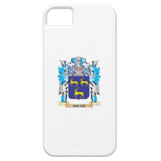 Gruen Coat of Arms - Family Crest iPhone 5/5S Case