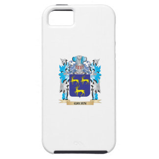Gruen Coat of Arms - Family Crest Case For iPhone 5/5S