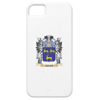 Gruen Coat of Arms - Family Crest Case For The iPhone 5