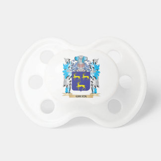 Gruen Coat of Arms - Family Crest Pacifiers