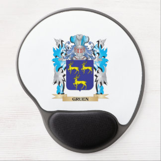 Gruen Coat of Arms - Family Crest Gel Mousepads