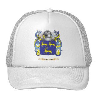 Gruen Coat of Arms (Family Crest) Mesh Hat