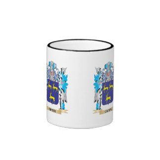 Gruen Coat of Arms - Family Crest Coffee Mugs