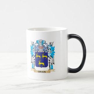 Gruen Coat of Arms - Family Crest Coffee Mug