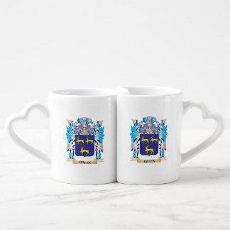 Gruen Coat of Arms - Family Crest Lovers Mug Set