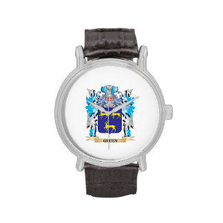 Gruen Coat of Arms - Family Crest Wristwatch