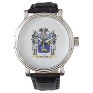 Gruen Coat of Arms - Family Crest Watches