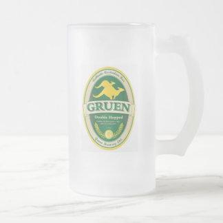 Gruen Frosted Glass Mug