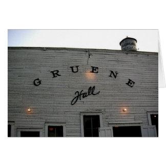 Gruene Hall Greeting Card