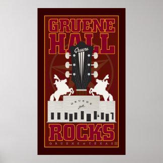 Gruene Hall-Poster