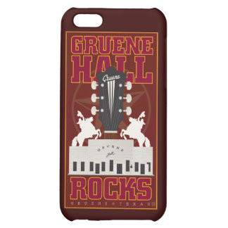 Gruene Hall-Speck Case Cover For iPhone 5C