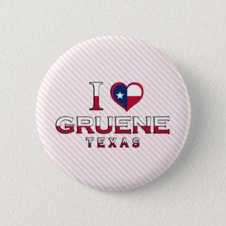Gruene, Texas 6 Cm Round Badge