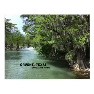 Gruene, Texas and Guadalupe River Postcard