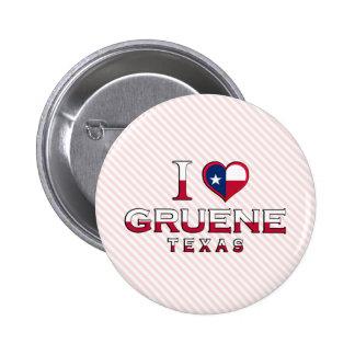 Gruene, Texas Pinback Buttons